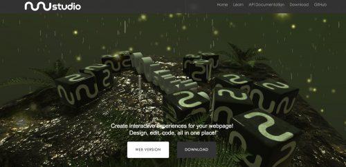 12个利用three.js框架为基础的精品外国网站